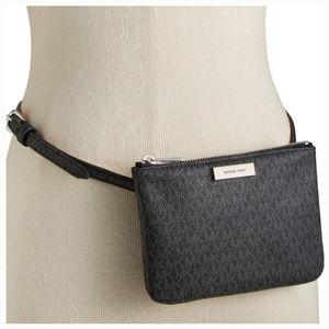 new Michael Kors Logo Waist Pouch Bag wallet